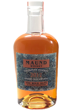 MAUND WHISKY, FOUNDERS RESERVE 2012, THE WILD ALPS